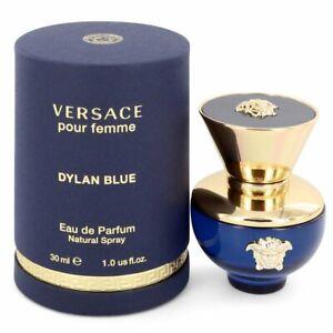 Versace Pour Femme Dylan Blue by Versace 1 oz Eau De Parfum Spray for Women