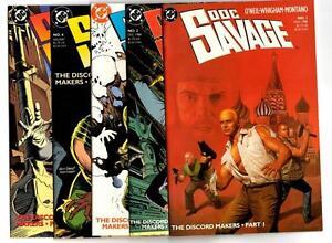 Doc Savage #1-10 (1988) DC VF/NM to NM-