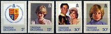 Tristan Da Cunha 1982 SG#327-330 Princess Diana 21st Birthday MNH Set #D33296