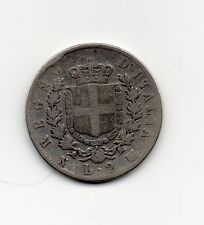 moneta in argento-anno 1863