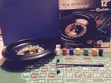 Vintage Casino Roulette Complete Game Gift Collectible