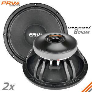 "2x PRV Audio 12CHUCHERO Midrange Car Audio 12"" Speakers 8 Ohms PRO 1400W"