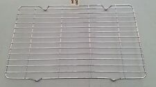 INDESIT IDD6340BL OVEN GRILL PAN WIRE RACK GRID 345 x 225mm GENUINE PART