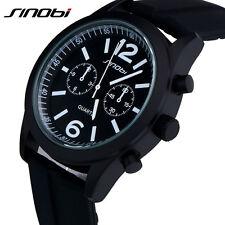 SINOBI Sport Watch Quarzuhr Herren Armbanduhr Silikon Teenage Boys Mode Uhren