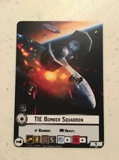 TIE Bomber Squadron Alt Art Card from Star Wars Armada 2017 Q3 Official FFG OP