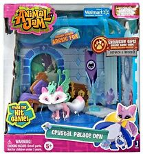 Animal Jam Crystal Palace Den Playset  with Arctic Fox National Geographic New!
