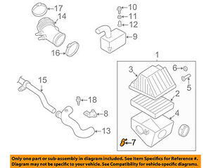 NISSAN OEM Air Cleaner Intake-Box Housing Clip Clamp 1659886G0A