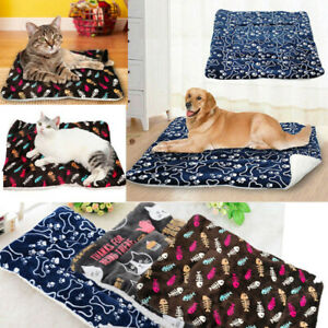 Pet Blanket  Bed Mattress Dog Cat Pad Mat Cushion Blanket Warm Soft Blankets