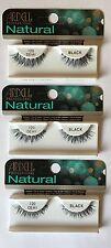 Ardell Professional naturale 120 DEMI false Striscia Ciglia Ciglia x 3 confezioni