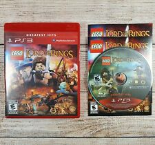 LEGO Lord of the Rings (Sony Playstation 3 PS3 2012) CIB Video Game
