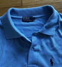 Ralph Lauren Polo Short Sleeve Polo Shirt Baby Blue - Big 1XL