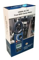 DT-3347 AC/DC 1000 Amp Clamp-on Current Voltage Capacitance Frequency Meter NEW