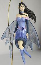 SAPPHIRE FAIRY ORNAMENT Jessica Galbreth NEW Fantasy Art Figurine Decor Angel