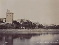 Villeneuve-lès-Avignon Photo Fevrot France Vintage Aristotype vers 1900