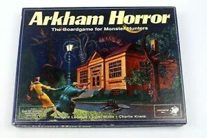 Vintage Arkham Horror 1987 1st Ed Chaosium Board Game Call of Cthulhu Rare
