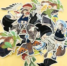 42pc Cute Fairy girls Stickers lot Die-cuts for junk bullet journal scrapbook