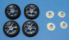 1/25 2010 Chevy Camaro Ss/Rs 5 Spoke Chrome Mags & Tires w/4 Disc Brakes