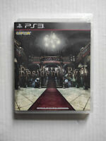Resident Evil HD Remaster Biohazard PlayStation PS3 2014 English Pre-Owned