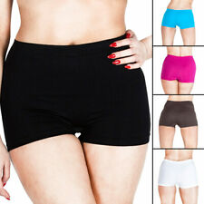 New Womens High Waist Boxer Shorts Pants Ladies Underwear Plus Size S M L XL XXL
