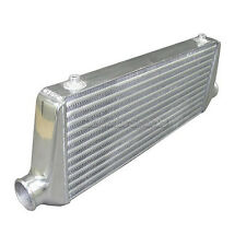 """28"""" Tube & Fin FMIC Universal Turbo Intercooler 2.5"""" Inlet & Outlet"""