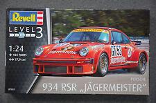 Revell 07031 Porsche 934 RSR JAGERMEISTER Escultura modelo de construcción 1:24
