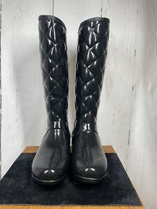 Hunter Regent Savoy Black UK5 EU38 Wellies Wellingtons (ref: 660 B19))