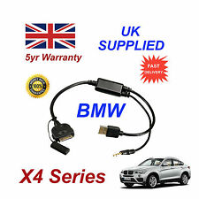 BMW X4 Series (611204407) para Apple 3GS 4 4S Iphone Ipod USB & 3.5mm Cable