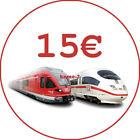 TOP 15€ DB Deutsche Bahn Gutschein eCoupon [SOFORTVERSAND] <br/> 👍 Sofortversand 👍 24/7 👍 100% Zufriedenheit