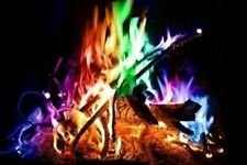 10 Packs Of Color Your Fire Magical Flames Adds Colorful Flames To Your Fires!