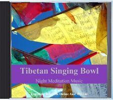Tibetan Singing Bowl & Gong Meditation CD  - all natural sounds of Tibetan Bowls