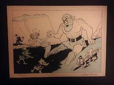 CARL BARKS ART - BEFORE HE BECAME THE DUCKMAN - SNOW WHITE RARE LITHOS - #24/120