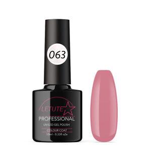 063 LETUTE™ Pink Rose Soak Off UV/LED Nail Gel Polish