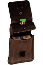 Leather Zigarettenhülle Cigarette Case (330C) Zigarettentasche Cigarette Box New
