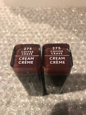 (2) Covergirl Exhibitionist Cream Lipstick 275 Coffee Crave
