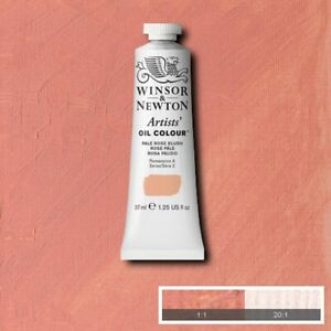 Winsor and Newton Artists' Oil Colour Pale Rose Blush
