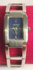 "New ""GEMS"" Quartz Movement Ladies Wrist Watch  Stainless Steel Back (5)"