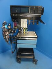 NORTH AMERICAN DRAGER NARKOMED 4 ANESTHESIA UNIT W/ EXTRA DISPLAY MONITOR 6519