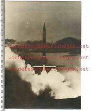 ORIGINAL PRESSEFOTO: FRENCH ROCKET IN SAHARA   - 50gerJhre - VINTAGE