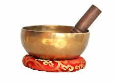 "7.5""Tibetan Meditation,Singing bowl with mallets-Hand beaten bowl, ByThamel Mart"