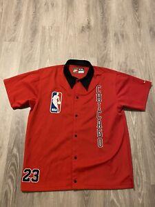 1984-87 Nike Chicago Bulls Michael Jordan Authentic Throwback Shirt 2XL XXL