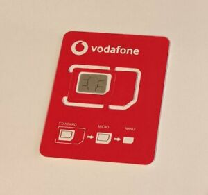 VODAFONE CALLYA CLASSIC Sim Karte Prepaid Sim Simkarte Telefonkarte aktiviert