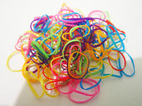 Pack of 250 Braiding Bands Ultra Elastic Tightly Ponytailers MULTI-COLOR