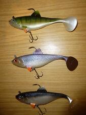 3 Stück,Trendex Softbait,Raubfischköder,3 D D.,17 cm,90 Gramm,Salz-u.Süsswasser