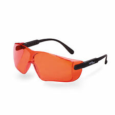 UV400 Orange Lens Adjustable Safety Shooting Glasses Eyewear Anti-Fog CE ANSI