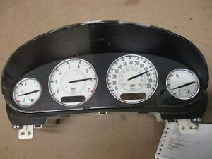 2001 Chrysler LHS Speedometer 99--01