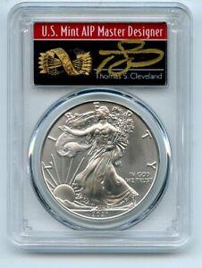 2021 (S) $1 Silver Eagle 1oz Dollar Emergency PCGS MS70 FS Cleveland Arrows