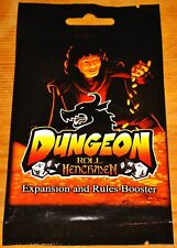 DUNGEON ROLL: HENCHMEN HERO BOOSTER PACK#3 EXP Game NEW/FREE SHIPPING/SHIPS INTL
