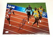 Usain Bolt Signed 11x14 Photo JSA Coa Olympics Jamaica