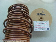 """SEWING MACHINE MOTOR DRIVE BELT, REAL LEATHER 5/16"""", 50"""" LONG WITH FIXING CLIPS"""
