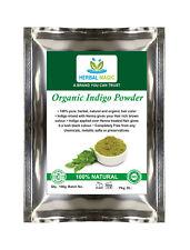 100g USDA Certified Pure Organic  Indigo Powder Natural Hair Color/ Dye